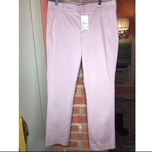 Vince Lavender Crop Trousers 4